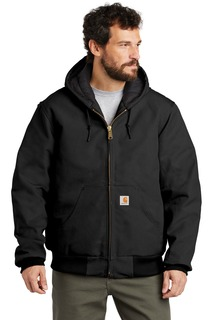 Carhartt ® Tall Quilted-Flannel-Lined Duck Active Jac.-