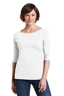 District® Womens Perfect Weight® 3/4-Sleeve Tee.-