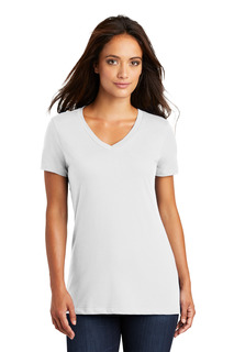 District® - Womens Perfect Weight® V-Neck Tee.-