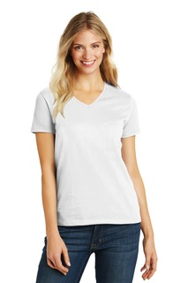 District® Womens Perfect Blend® V-Neck Tee.-District