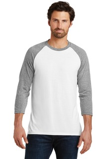 District ® Perfect Tri® 3/4-Sleeve Raglan.-