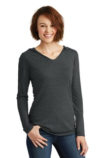 District® Womens Perfect Tri® Long Sleeve Hoodie.-