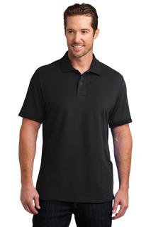 District Made® Mens Stretch Pique Polo.