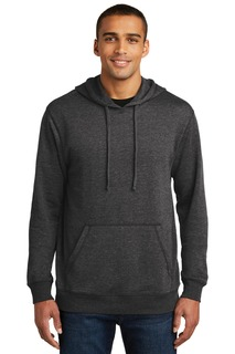 District Made® Mens Lightweight Fleece Hoodie.