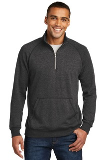District Made® Mens Lightweight Fleece 1/4-Zip.