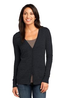 District Made® - Ladies Cardigan Sweater.-District