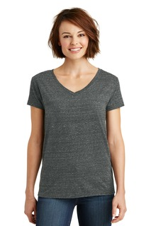District ® Womens Cosmic V-Neck Tee.-