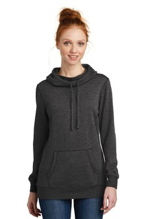 District ® Womens Lightweight Fleece Hoodie.-