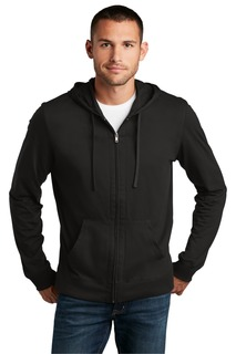District Jersey Full-Zip Hoodie.-District
