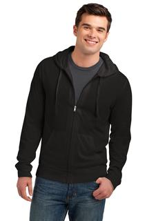 District® Jersey Full-Zip Hoodie.-District