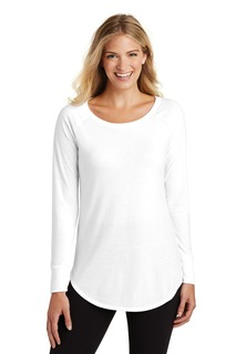 District Perfect Tri Long Sleeve Tunic Tee.-