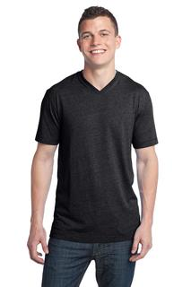 District® - Young Mens Tri-Blend V-Neck Tee