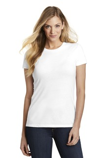 District Ladies Hospitality T-Shirts ® Womens Fitted Perfect Tri ® Tee.-District