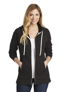 District ® Womens Perfect Tri ® French Terry Full-Zip Hoodie.-