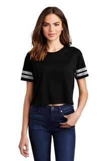 District ® Womens Scorecard Crop Tee-District