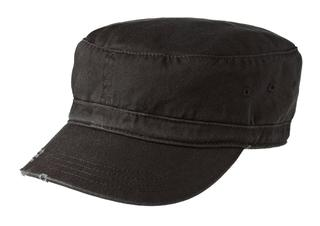 District®DistressedMilitaryHat.-District