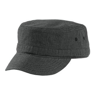 District Houndstooth Military Hat-