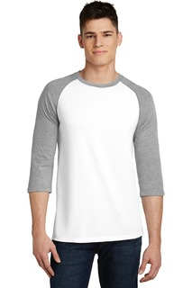 District® Very Important Tee® 3/4-Sleeve Raglan.-
