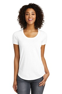 District® Womens Fitted Very Important Tee® Scoop Neck.-