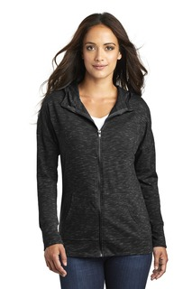 District ® Womens Medal Full-Zip Hoodie.-
