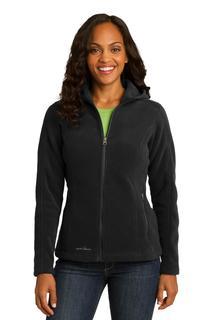 Eddie Bauer® Ladies Hooded Full-Zip Fleece Jacket.
