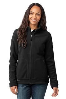 Eddie Bauer® - Ladies Wind-Resistant Full-Zip Fleece Jacket.