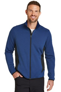 Eddie Bauer® Full-Zip Heather Stretch Fleece Jacket.-