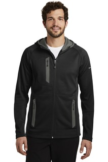 Eddie Bauer Sport Hooded Full-Zip Fleece Jacket.-