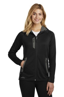 Eddie Bauer Corporate Hospitality Ladies Sweatshirts & Fleece ® Ladies Sport Hooded Full-Zip Fleece Jacket.-Eddie Bauer