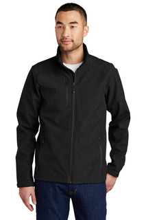 Eddie Bauer® Shaded Crosshatch Soft Shell Jacket.-