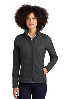 Eddie Bauer Shaded Crosshatch Soft Shell Jacket.-
