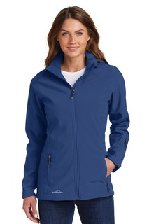 Eddie Bauer® Ladies Hooded Soft Shell Parka.-
