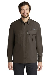 Eddie Bauer® - Long Sleeve Performance Fishing Shirt.-