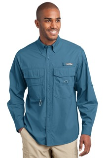 Eddie Bauer - Long Sleeve Fishing Shirt.-Eddie Bauer