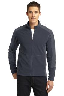 Port Authority Colorblock Microfleece Jacket.-