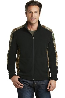PortAuthority®CamouflageMicrofleeceFull-ZipJacket.-Port Authority