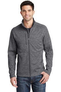 Port Authority® Digi Stripe Fleece Jacket.-Port Authority