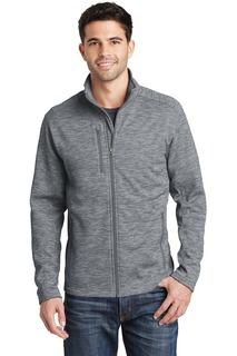 Port Authority Men's Full Zip Fleece Jacket.-Port Authority