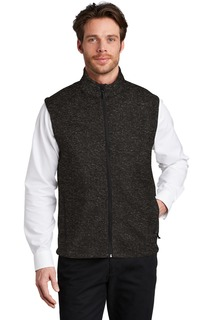 Port Authority ® Sweater Fleece Vest-Port Authority