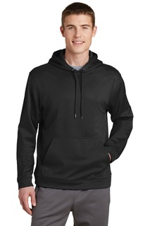 Sport-Tek® Sport-Wick® Fleece Hooded Pullover.-