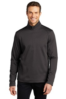 Port Authority ® Diamond Heather Fleece 1/4-Zip Pullover-Port Authority