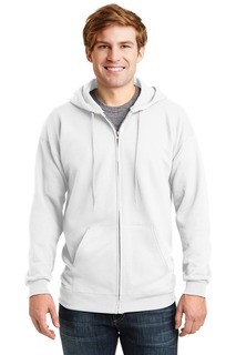 Hanes® Ultimate Cotton® - Full-Zip Hooded Sweatshirt.-Hanes