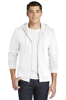 American Apparel Flex Fleece Zip Hoodie.-Comfort Colors