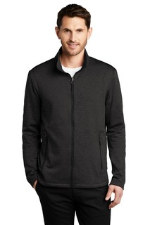 Port Authority Collective Striated Fleece Jacket.-