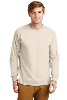 Gildan® - Ultra Cotton® 100% Cotton Long Sleeve T-Shirt.-Gildan