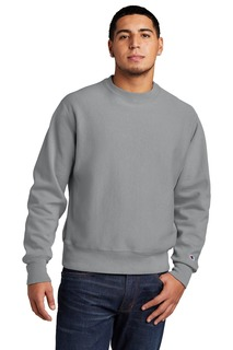 Champion Reverse Weave Garment-Dyed Crewneck Sweatshirt.-Port Authority