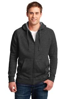 Hanes® Nano Full-Zip Hooded Sweatshirt.-