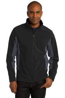 Port Authority® Core Colorblock Soft Shell Jacket.-