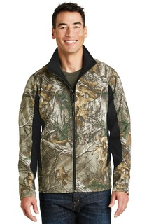 Port Authority® Camouflage Colorblock Soft Shell.-Port Authority