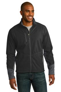 Port Authority® Vertical Soft Shell Jacket.